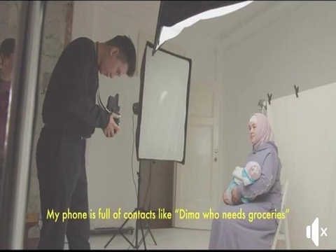 Video-teaser of photo-exhibition